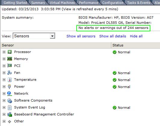 Hardware-Status-VIB-remove