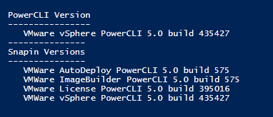 PowerCLI-Get-PowerCLIVersion